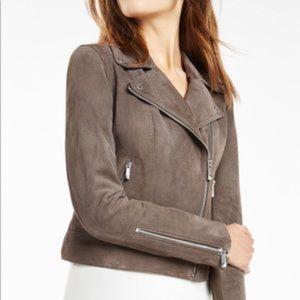 Santana Suede Jacket | BCBGMaxAzria